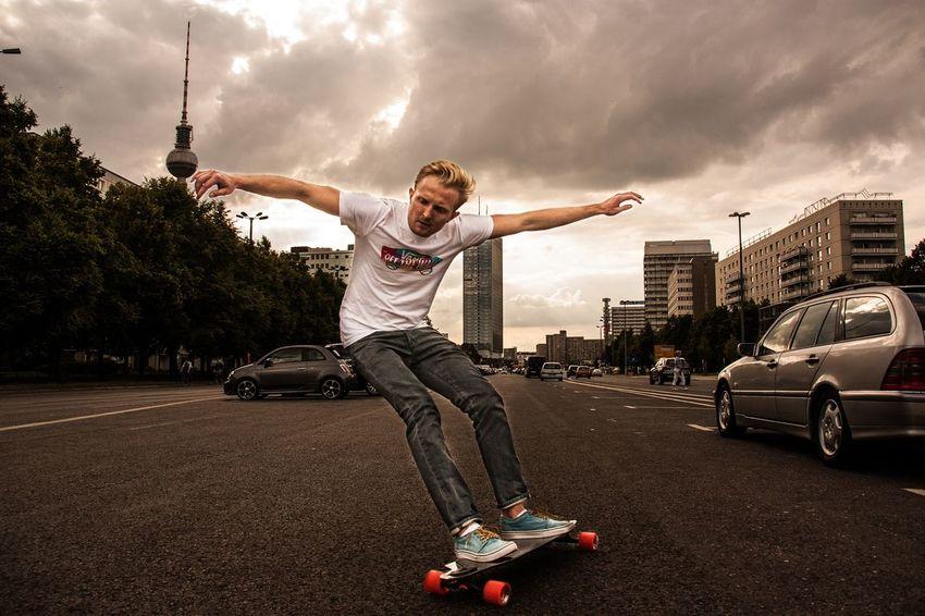 Sports Photography Sport C6 Longboard Board Berlin Berlinstreet C6-boards Real People Sport In The City Eyeem Sport