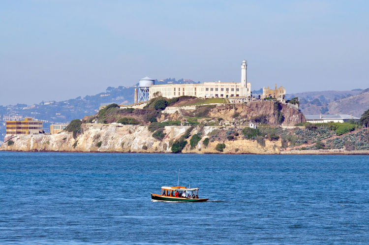 Sights of The City 6 San Francisco San Francisco Bay Alcatraz Island The Rock Federal Penitentiary 1943-63 High-security Prison Military Prison 1868 Lighthouse Water Tower Rocky Shoreline Treacherous Waters Tour Boat Ferry View Marin Headlands Landscape Landscape_lovers Landscape_Collection Landscape_photography