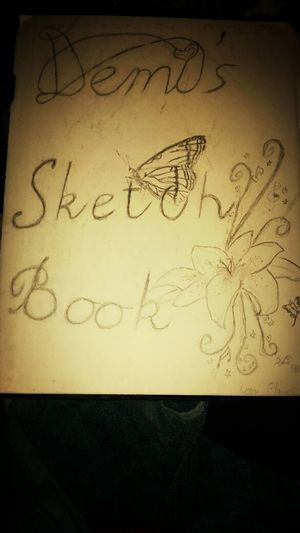 Opening of my Sketch book. (monday, wednsday,friday,and saturday...maybe) XD Demi's Sketch Book Art Butterfly Drawing.