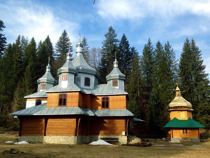 Карпаты Церковь Karpaty Church Churches Carpathians