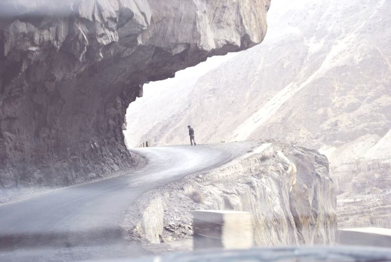 Mountains Enjoying Life With Friends Dangerous Road Pakistani Traveller Made In Pakistan Check This Out
