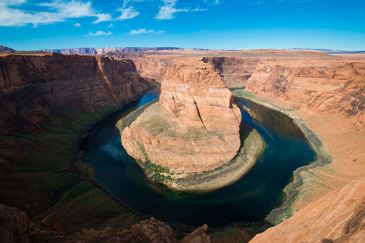 Horse Shoe Bend Relaxing Travel Outdoors No People Nature Advanture River Arizona Colorado Landscape Scenics Water America Southwest  Happy Background