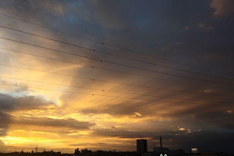 夕焼け Sunset 空 Sky 雲 Clouds