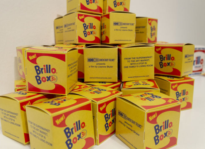 Brillo Boxes Brillo Brillos Stack Large Group Of Objects Still Life Box Box - Container Container Yellow Package Group Of Objects