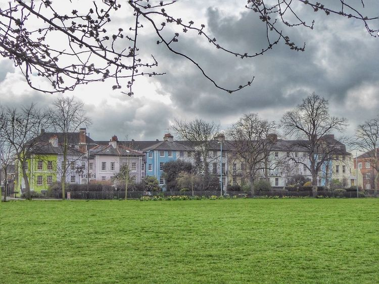Turnham Green Chiswick Georgian Architecture Georgian 1820 19thcentury 19th Century 19th Century Buildings 19th Century Houses Architecture Architecture_collection London LONDON❤