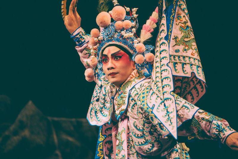 The Portraitist - 2014 EyeEm Awards Portraits Chinese Opera