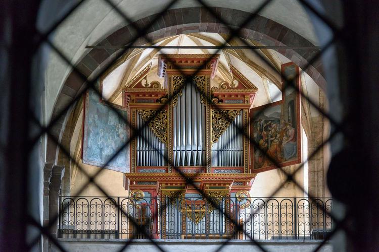 San candido, innichen. ancient collegiate abbey.italy