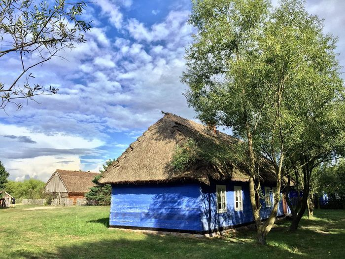 An open air museum near Łowicz city. Architecture The Purist (no Edit, No Filter) Poland Tadaa Community Check This Out Blue HDR Hdr_Collection Open Air Museum łowicz Maurzyce Farmhouse An Eye For Travel