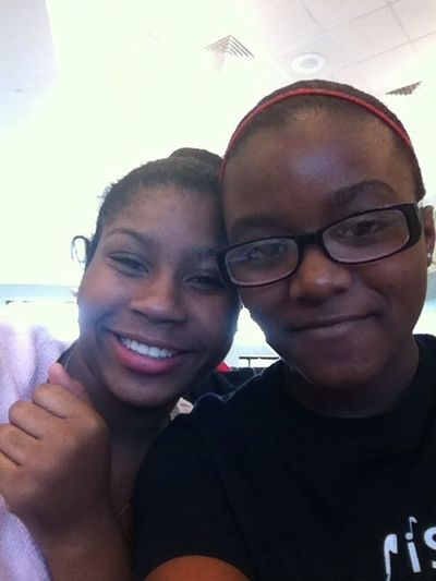 Me And My Sis At Lunch