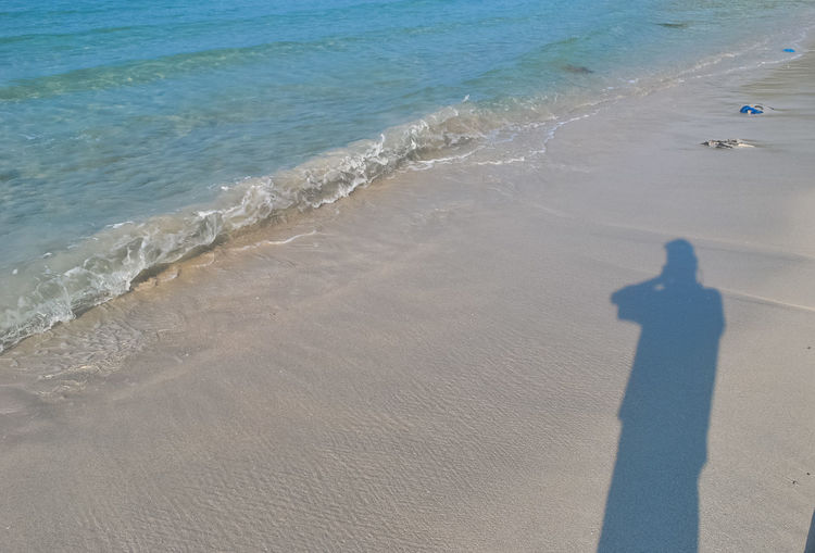 Shadow In Beach Beach Beauty In Nature Bintan  Bintanisland Focus On Shadow High Angle View Nature Ocean Outdoors Sand Sand & Sea Scenics Sea Shadow Shadow In Beach Shadows & Lights Travel Destinations Traveling Trikorabeach Tropical Paradise Vacations Water Wave Waves, Ocean, Nature