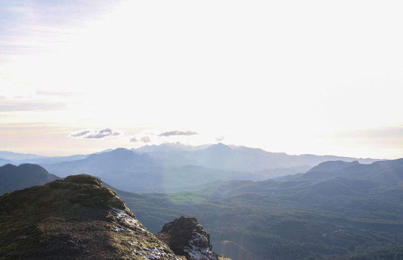 Landscape Mountain Mountain Peak Mountain Range Nature No People Sky Sunset