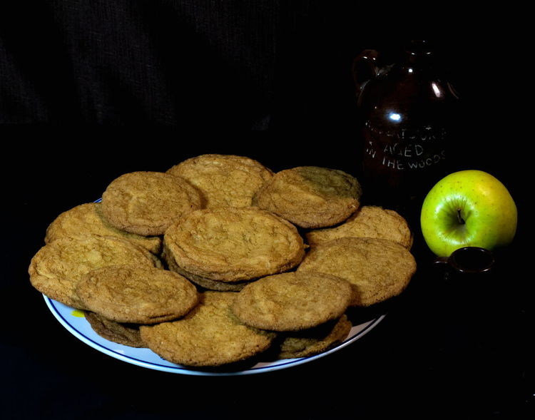 Finally a cookie I can eat.. Cayenne, Black pepper and Brown Sugar... Alright! Cajun Food Cayenne Pepper Cookies Apple - Fruit Black Background Cayenne Close-up Cookie Day Dessert Food Food And Drink Freshness Fruit Indoors  No People Ready-to-eat Snack Studio Shot Sweet Food Unhealthy Eating