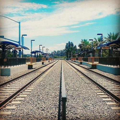Line'em up. Trains Lightrail VSCO Vscocam vscogram vscophile instagood
