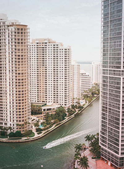 Cityscape of Miami; urban landscape; urban cityscape; film photography; escape; travel; explore Beach Boat City City Life Cityscape Explore Film Photography Florida Miami No People Oasis Ocean Palm Tree Pool Poolside Relax Symmetry Tall Buildings Travel Travel Destinations Urban Landscape Urban Skyline Vacation Water