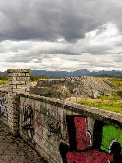 Walking around in Laredo Cloud Cloudy Skies Graffiti Landscape Laredo Mountains Nature Outdoors Sky SPAIN Tranquil Scene Cantabria