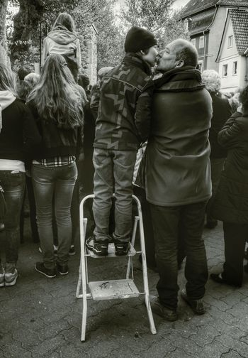 the love between father and son, seen at easter session today RePicture Love Photography Blackandwhite My Best Photo 2014 The World Need More Kisses ,thank you for inviting @jurgenmuller :) The Human Condition