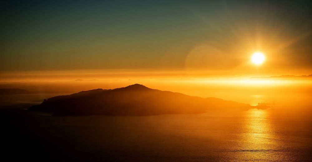 An Angel Island Sunrise Angelisland Sanfrancisco Sunrise SanFranciscoBay Sunrays California California Dreamin