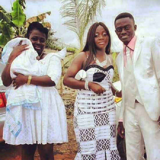 Ghana celebrity... ...captured here is Lil Win and Fam Ghana360