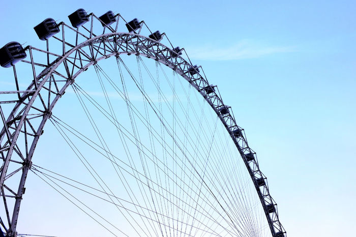 Sky Wheel Happy Day☺ Happy Time 😛 😁 💎 ✌ Meeting Friends Enjoying Life Stree Photography Fujifilm X100T EyeEm Best Shots The Moment