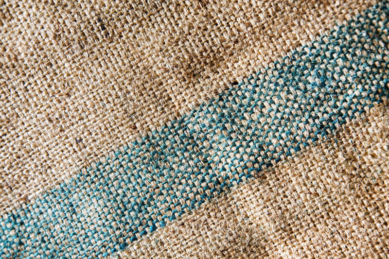 Full Frame Shot Of Jute Fabric