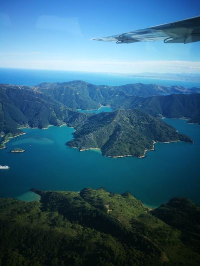 Marlborough Sounds Aerial View Airplane Time Of My Life