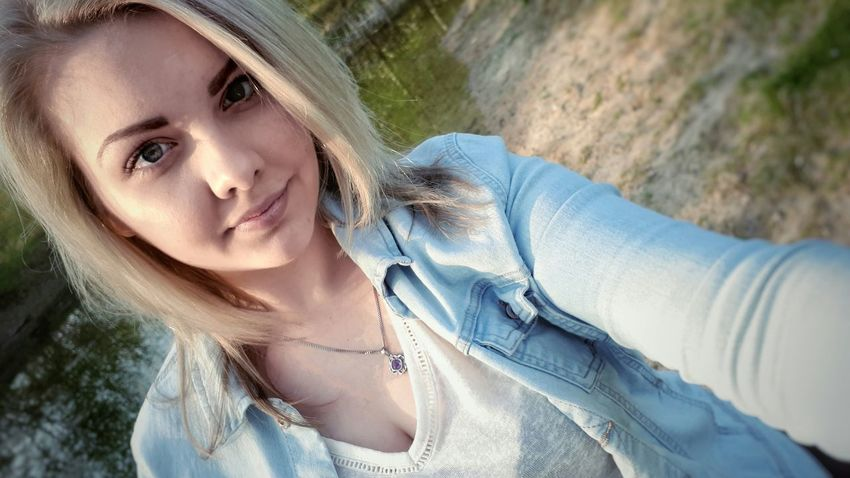 Yesterday. Outside. Nature. 📸 Beauty Headshot Portrait People Blond Hair Outdoors Close-up Young Adult Nature Light And Shadow Taking Photos Hello World Photooftheday EyeEm Gallery Selfie ✌ MeMyself&I Blonde Girl Weekendvibes Cute Hi Tranquility Eyeemphotography Beauty In Nature Check This Out Hanguing Out
