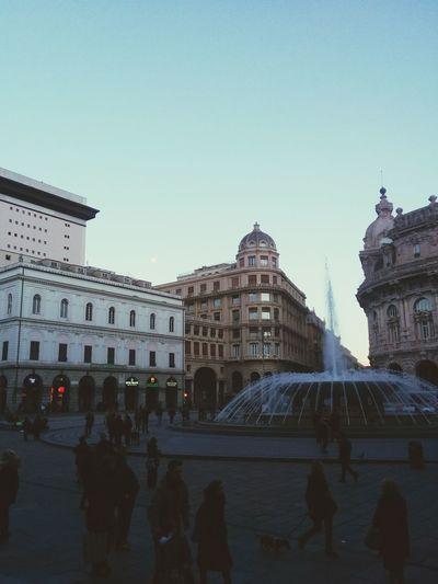 Genova Urban Landscape