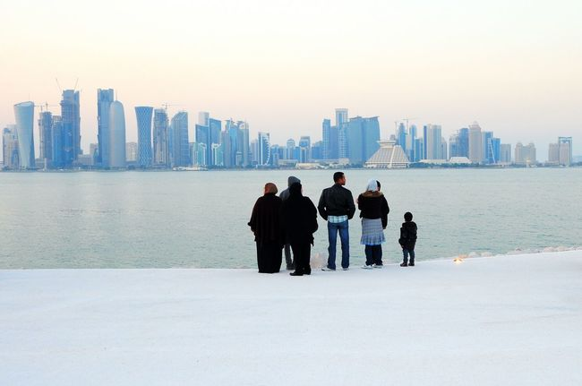 Doha Skyline Westbay Skyline Mia Park Doha Qatar Qatar Corniche The Great Outdoors - 2016 EyeEm Awards