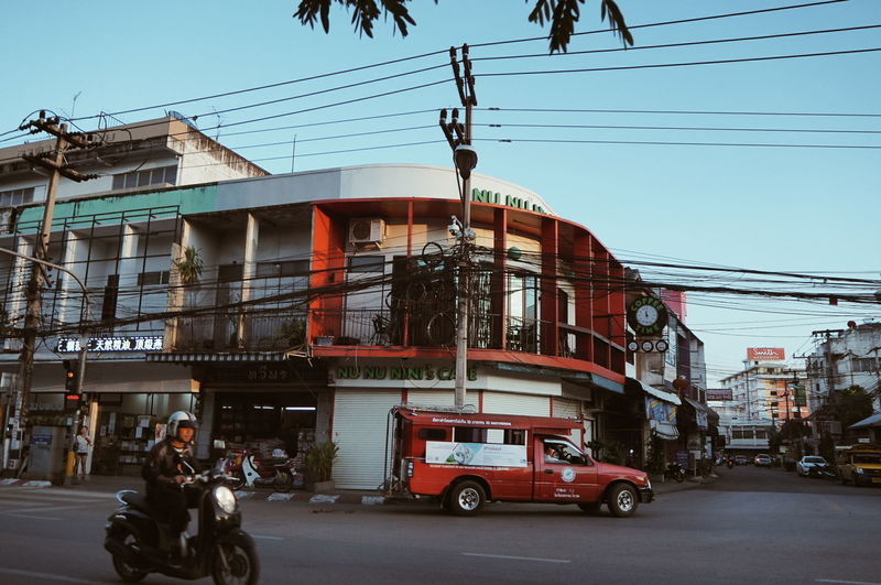 เชียงใหม่ Road Transportation City Outdoors Motorcycle One Man Only Day Only Men Adult People Adults Only Men Sky Politics And Government Thailand Chiang Mai | Thailand EyeEmNewHere