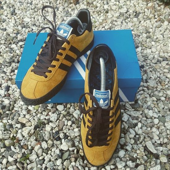Todaystrotters Todaystrainers Trefoilonmyfeet Ramon085 Adidasjamaica Theislandserie Thebrandwiththethreestripes Casual Casualclobber_ Secondlineofholeslacesup