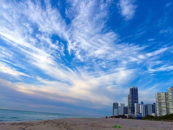 I love Miami Beach sunrises. Sunrise Miamibeach Miamisunrise 71ststreetbeach