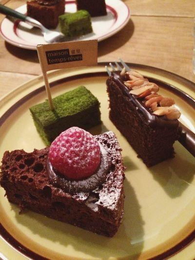 Sweets Dessert Chiffon Cake Poundcake Matcha