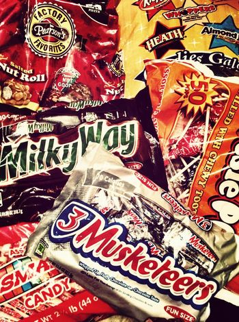 Candy for trick or treater's. Halloween Candy Sweettooth