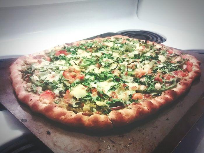 Pizza Homemade Pizza Trader Joes  Arugula
