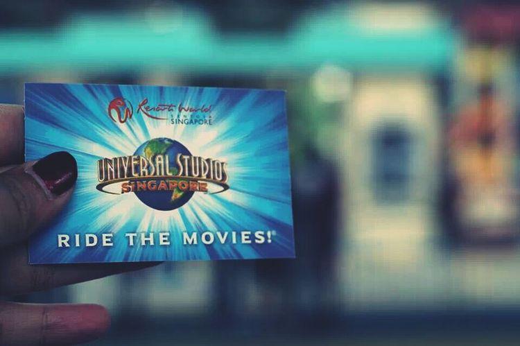 gogogo..... yihaaaay Universalstudiosingapore Universal Studios  Vacation