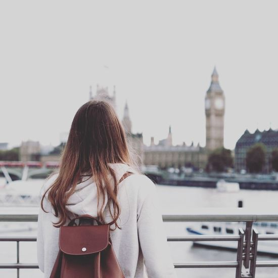 New life Aupair London New Life Love Traveling Architecture City One Person Travel Destinations Sky River Outdoors A New Beginning