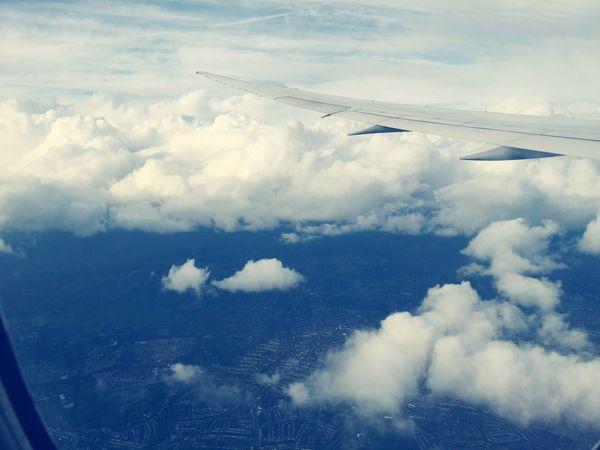 Flying British Airways