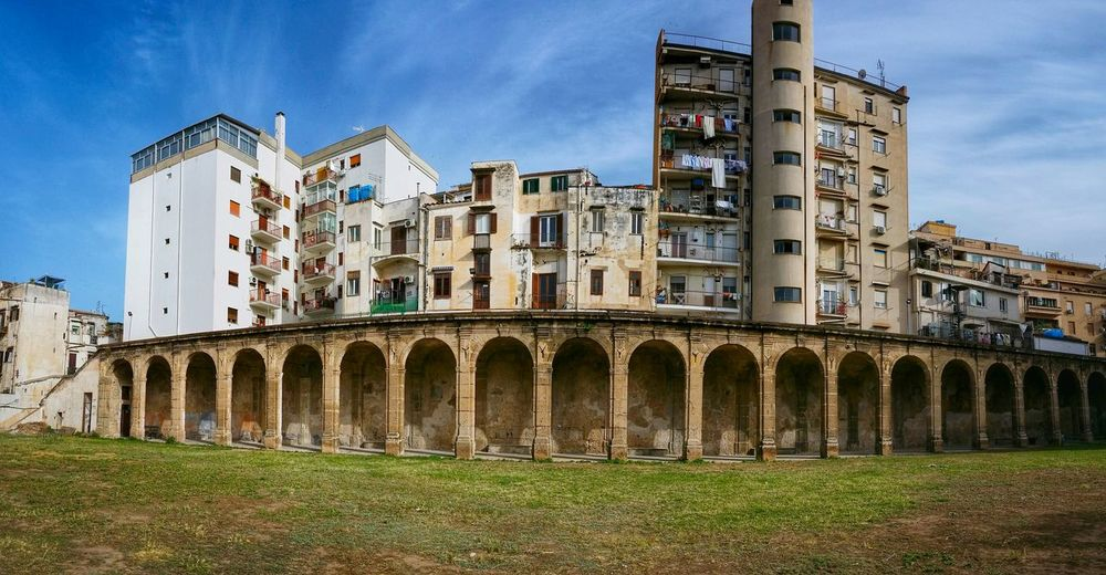 Villa Filippini Palermo Sicily Italy Travel Photography Travel Voyage Traveling Mobile Photography Fine Art Panoramic Views Architecture Arcades Mobile Editing