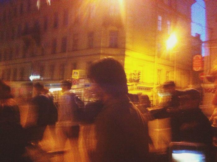 В толпе. Popular Photo Saint Petersburg Пешком по Питеру Nightphotography Keanureeves Siberia Popular Photos Moment