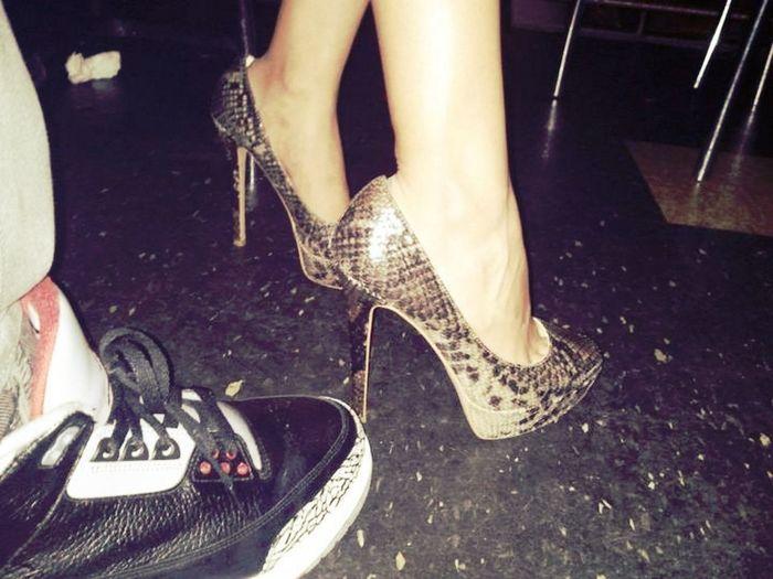 Jordans And Heels