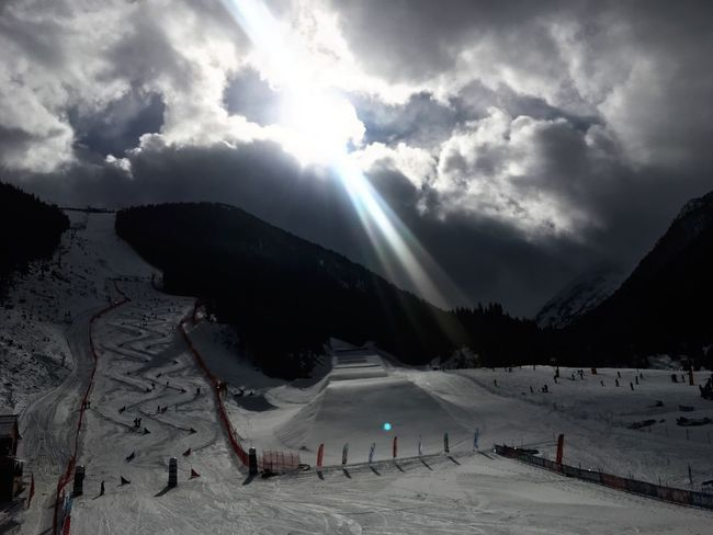 Bansko Snowbording Weather Nature Cloud - Sky Sky Beauty In Nature Winter Snow