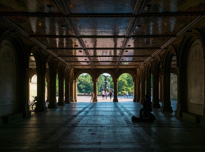 Interior Of Bethesda Terrace In Central Park