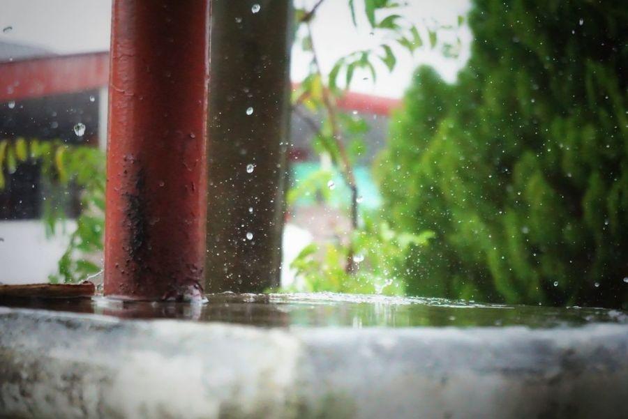 Raining Wateedrops Wet Splashing RainDrop