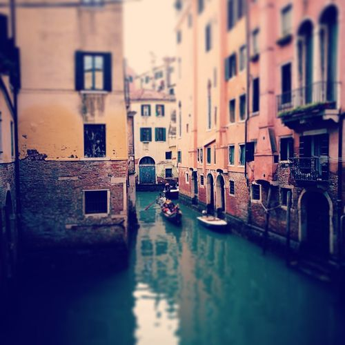 #end2018 Venicelove Water Nautical Vessel City Gondolier Cultures Canal Architecture Building Exterior Built Structure Gondola Water Vehicle People In The Background