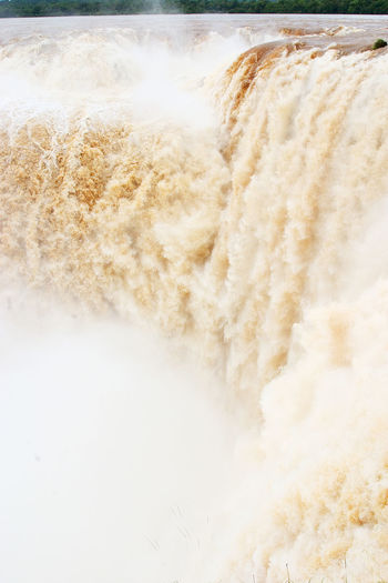 Full frame shot of ice cream