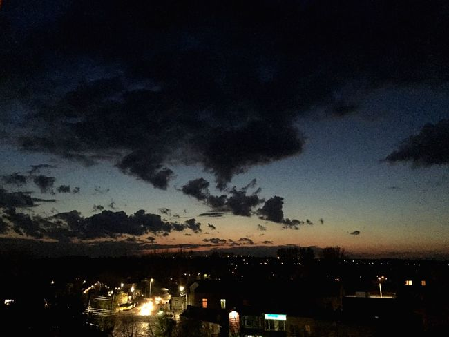 Sunset Sky Clouds And Sky Blue Sky Dark Clouds Orange Sky City City Life Like4like Follow4follow Followme Likeforlike Like Follow