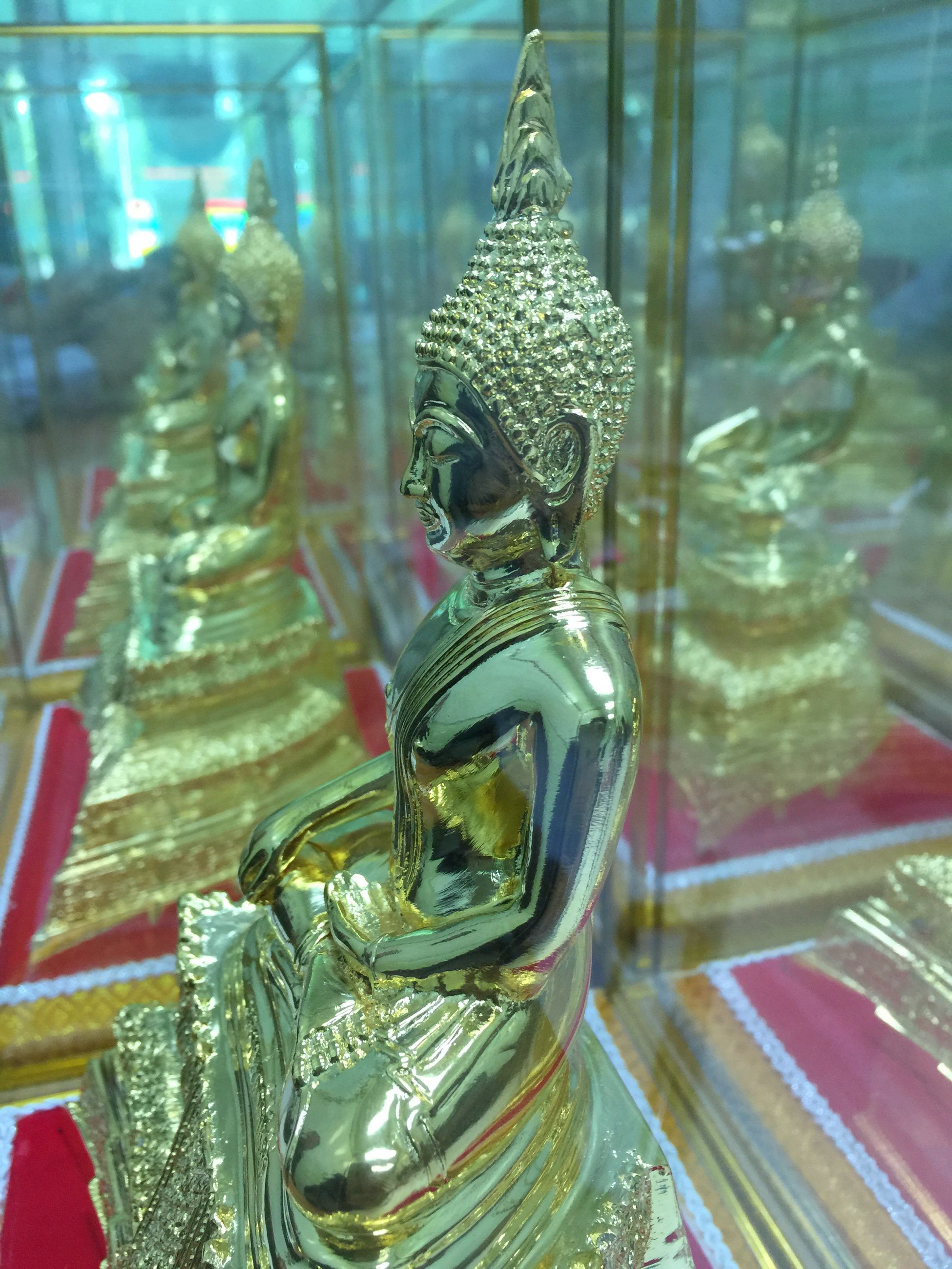 statue, religion, spirituality, gold colored, sculpture, indoors, place of worship, idol, no people, shiny, close-up, golden color, day