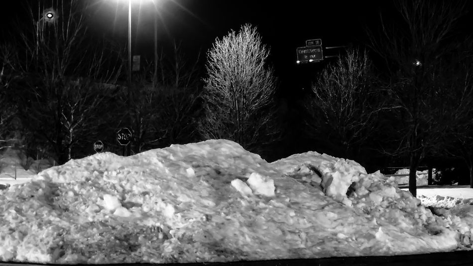 Snow piles parking lot Shopping Snow Ice Piles Of Snow Tree Trees Tree_collection  Black Black And White Collection  Dark Blackandwhite Photography Black And White EyeEm Best Shots - Black + White Darkness Contrast Contrasting Colors