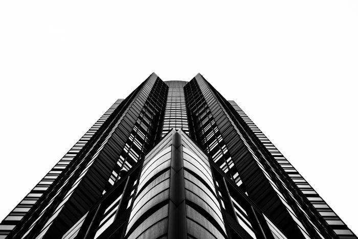 EyeEm Best Shots Minimalism Architecture Symmetrical Frankfurt EyeEm Best Shots - Architecture Blackandwhite Urban Geometry Black & White Darkness And Light