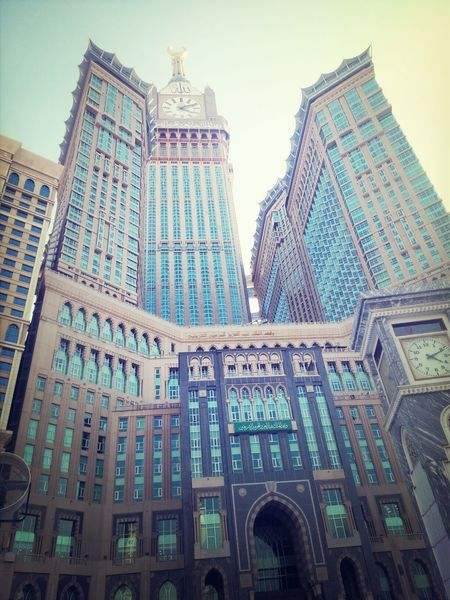 Galaxy and Me Makkah Tower Architecture Building